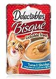 Image of Hartz Delectables Lickable Treat Bisque Tuna and Shrimp (12 Pack), 1.4 oz