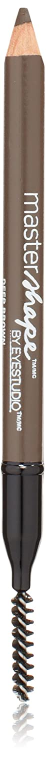 Maybelline New York Eye Studio Master Shape Brow Pencil, Deep Brown, 0.02 Fluid Ounce by Maybelline New York 999MBWP-260