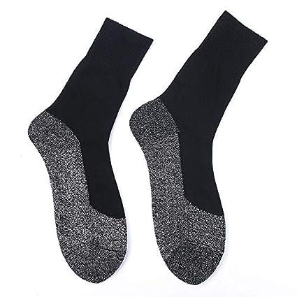 ROKOO 1 Pair Heat Keep Feet Long Sock Aluminized Fiber Insulation Below Socks