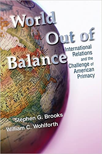 Amazon com: World Out of Balance: International Relations and the