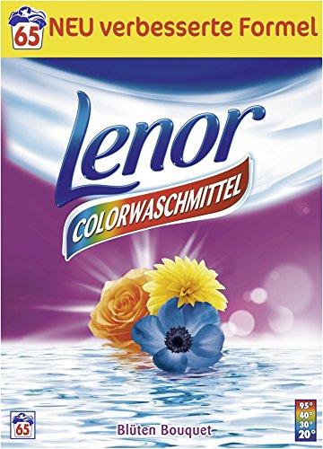 Lenor Colorwaschmittel Pulver Blüten Bouquet 65 WL