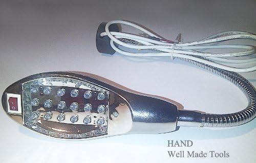 DEL Lumière de travail col de cygne lampe avec Base magnétique pour machine à coudre