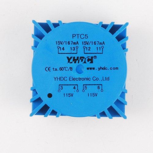 NW 5VA Toroidal Transformers Audio Transformer Dual 110V 50/60HZ Out 15V