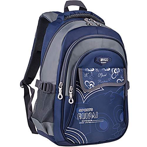Girl Big Girl Backpack - Vbiger Girl's & Boy's Backpack for Middle School Cute Bookbag Outdoor Daypack (Blue 2)