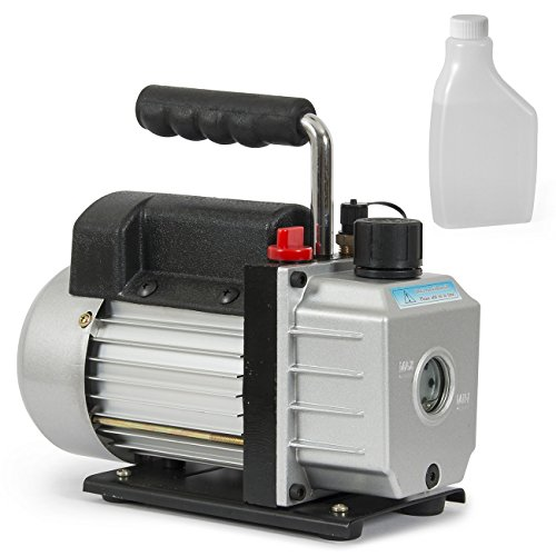ARKSEN Electric 3CFM Single-Stage Vacuum Pump 1/4