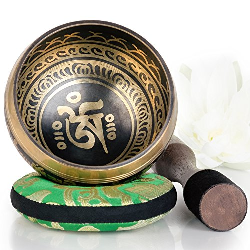 Silent Mind ~ Tibetan Singing Bowl Set ~ Balance &...