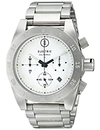 Electric Men's EW0030010002 DW01 Stainless Steel Band Analog Display Japanese Quartz Silver Watch