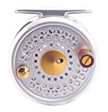 Tica USA S-Series Fishmaster Series Fly Reel, Silver, 12-Test/54-Yard For Sale