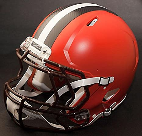 Amazon.com: Riddell Speed CLEVELAND BROWNS NFL - Casco de ...