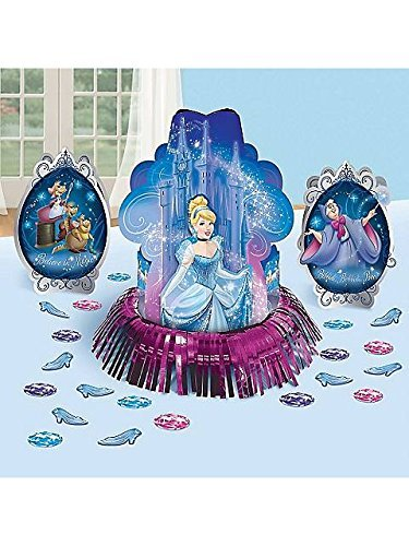 Amscan Cinderella 'Sparkle' Table Decorating Kit (23pc)
