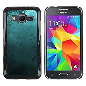 TECHCASE**Cubierta de la caja de protección la piel dura para el ** Samsung Galaxy Core Prime SM-G360 ** Modern Art Random Blue Turquoise Ocean