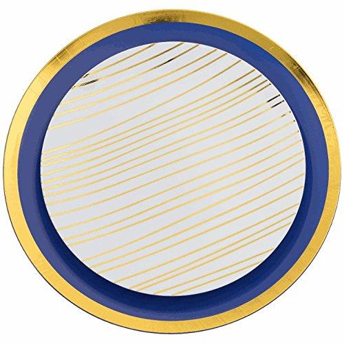Trendables Premium Disposable Plastic Plates  Food Grade Plastic Dinner Plates - 40 Pack  sc 1 st  Dish Store & Trendables Premium Disposable Plastic Plates  Food Grade Plastic ...