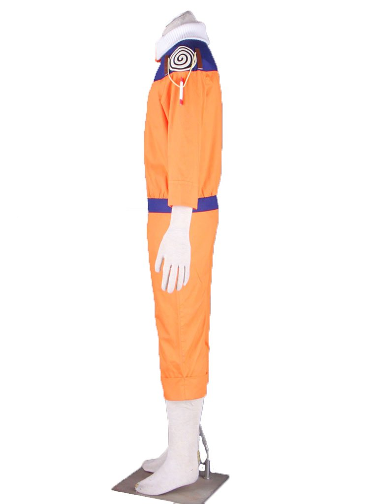 Wsysnl Japanese Anime Cosplay Costume for Uzumaki Naruto Adult/Kids by Wsysnl (Image #3)