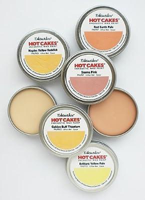 Encaustic Wax Paint Set- Portrait Hot Cakes Set