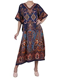 Miss Lavish London Kaftan Tunic Kimono Dress Ladies Summer Women Evening Maxi Party Plus Size 6-24