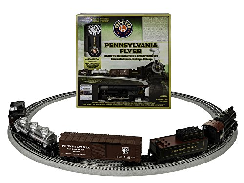 Pennsylvania Flyer Train Set (Lionel Pennsylvania Flyer LionChief 0-8-0 Freight Set with Bluetooth Train Set)