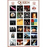 (24x36) Queen (Album Covers) Music Poster Print