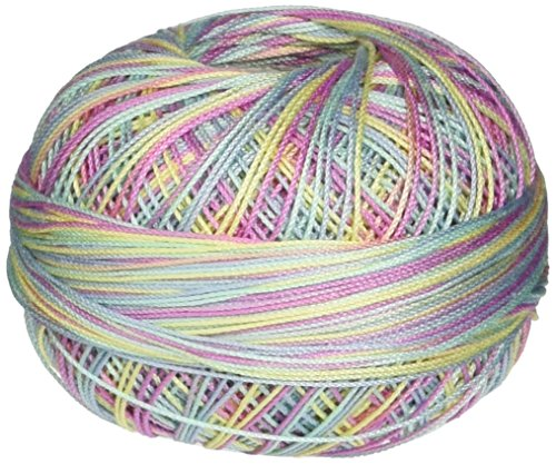 - Handy Hands 210-Yard Lizbeth Cotton Thread, 25gm, Butterfly Breeze