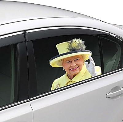 Colorbok Joy Riders Queen Window Cling