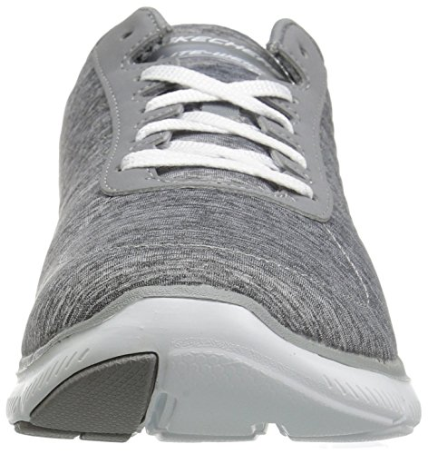 Femme Skechers Baskets Noir Basses Appeal Flex Gray 37 2 FXXq6aw