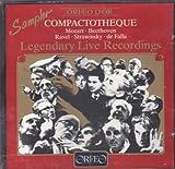 Orfeo Sampler - Legendary Live Recordings - Beethoven: Coriolanus Overture / Mozart: Symphony No. 25 / Stravinsky: Jeu de cartes / Ravel: La Valse / Falla: Three dances from 'The Three-Cornered Hat'