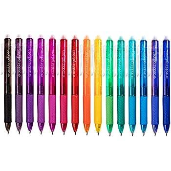 ParKoo Retractable Erasable Gel Pens Clicker