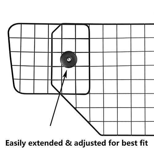 PUPTECK Dog Barrier for SUV Cars - Heavy Duty Adjustable Pet Wire Barrier by PUPTECK (Image #3)