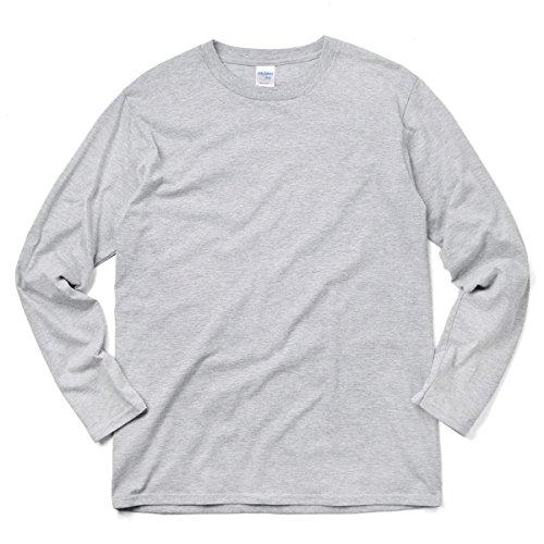 貴重な航空成り立つ【メーカー取次】【XS~XLサイズ】GILDAN ギルダン 76400 Premium Cotton 5.3oz L/S アダルト Tシャツ Japan Fit 【クーポン対象外】