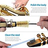 Imelod Saxophone Cleaning kit with Case for Alto