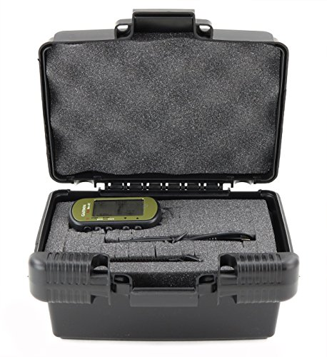 Differential Gps Receiver (Life Made Better Storage Organizer - Compatible With Garmin Foretrex 401 Waterproof Hiking GPS - Durable Carrying Case - Black)