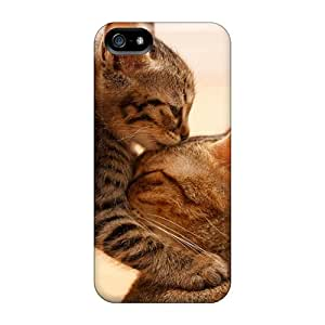 Iphone 5/5s Cases, Premium Protective Cases With Awesome Look - Cat Motherly Love