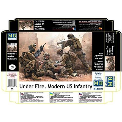 'Master Box mb35193figura Modern US Infantry