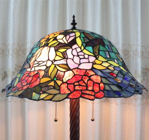Amazon.com: Tiffany 20-inch European-style stained glass ...