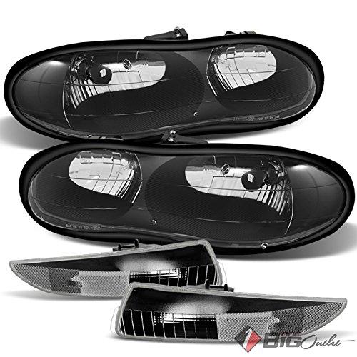 02 camaro black headlights - 6