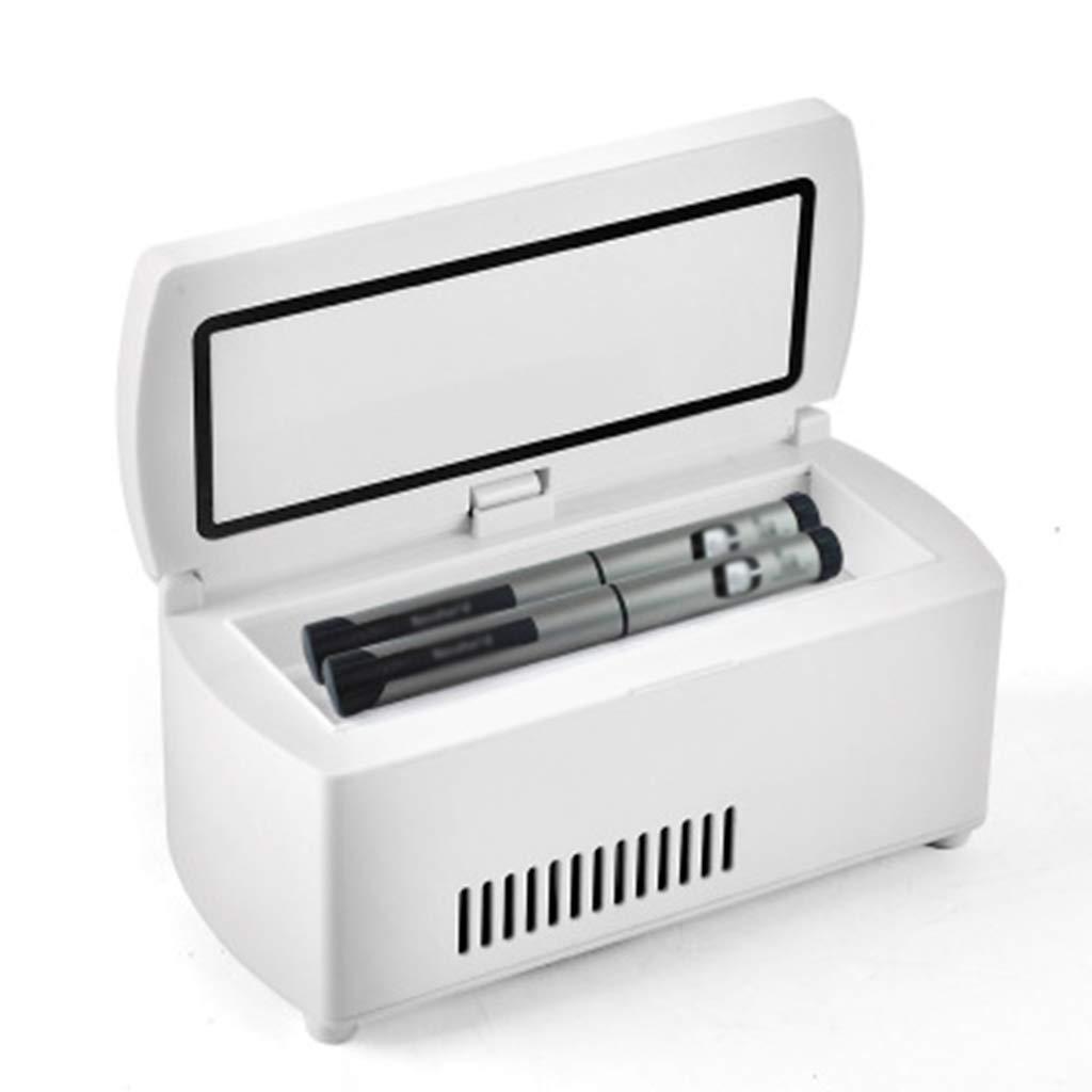SryWj Insulin-Kühlbox Tragbarer Intelligenter Auto-Thermostat Mini Tragbarer Aufladenkühlungs-Medizin-Kühlschrank