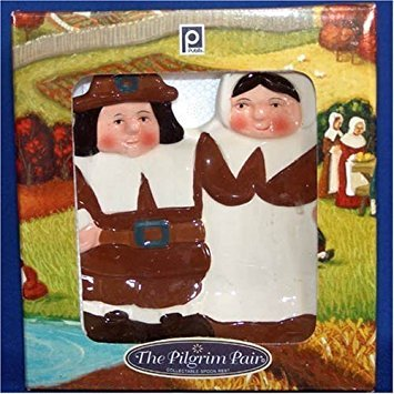 The Pilgrim Pair Collectible Thanksgiving Spoon Rest