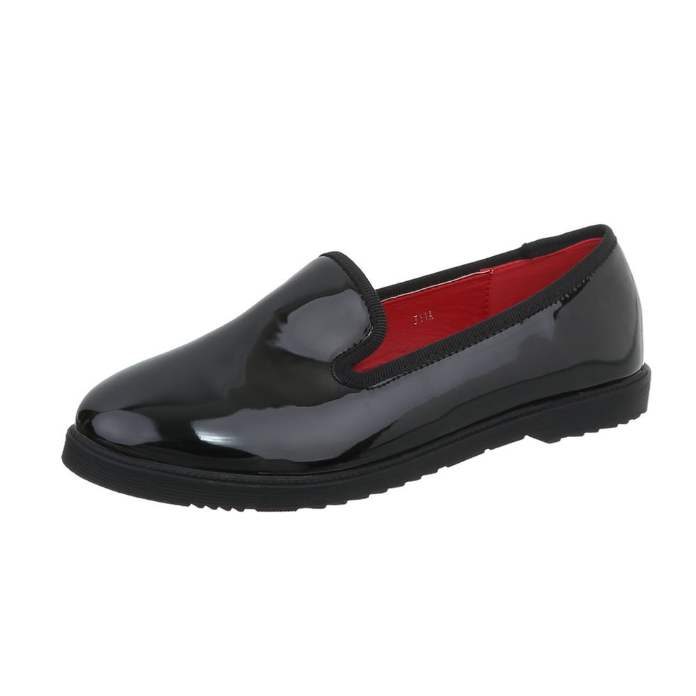 Ital-Design Chaussures Chaussures Femme Mocassins Ital-Design Bloc Mocassins Slippers noir J11A 4e618d9 - robotanarchy.space