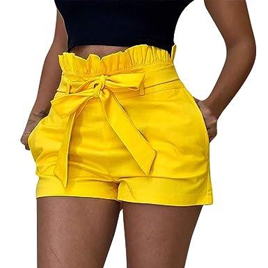 mejor coleccion otra oportunidad comprar Gusspower Pantalones Cortos Algodón Mujer de Verano ...