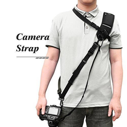Lavievert Camera Strap, Quick Release Rapid Shoulder Neck Sling Strap Belt for Camera DSLR SLR