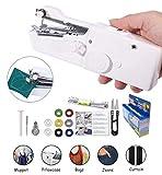 Handheld Sewing Machine Yibaisionn Portable Mini Electric Stitching Machine Fabric Curtains Cordless Craft