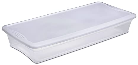 Sterilite 19608006 41QT Underbed Store Box  sc 1 st  Amazon.com & Amazon.com: Sterilite 19608006 41QT Underbed Store Box: Home Improvement