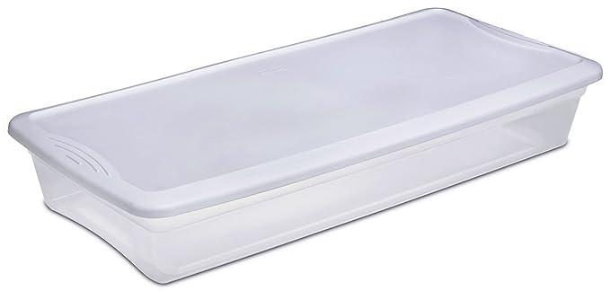 Sterilite Under Bed Storage Unique Amazon Sterilite 60 60QT Underbed Store Box Home Improvement