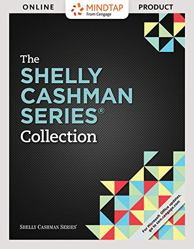 MindTap Computing for The Shelly Cashman Series Collection, 1st Edition by Cengage Learning