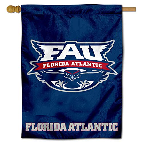 College Flags and Banners Co. FAU Florida Atlantic University Owls House Flag ()
