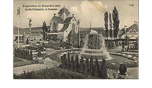 Amazon.com: Exposition de Bruxelles 1910, Jardins Hollandais, la ...