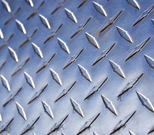 3003 Bright Aluminum Tread Plate - .063 x 48 x 12