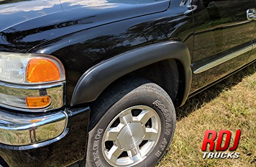 RDJ Trucks HWY-PRO OE Style Fender Flares - Silverado/Sierra 1999-2006 | Suburban/Yukon XL 2000-2006 - Set of 4 (Smooth Paintable)
