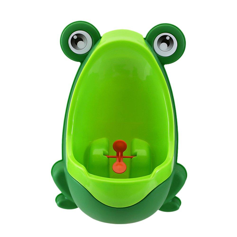 amazon com cute frog wall mounted potty for boys potty training