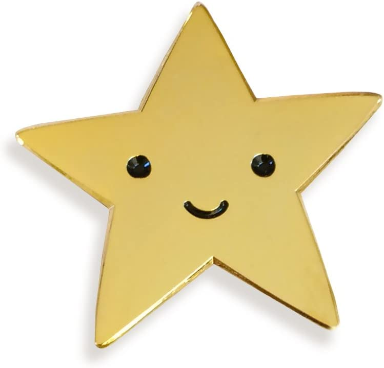 Amazon.com: Gold Star Enamel Pin: Home & Kitchen