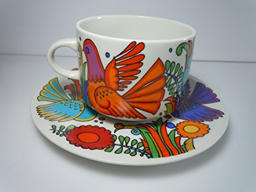 Villeroy and Boch Acapulco Oversized Cup and Saucer Set (Boch Acapulco Villeroy)